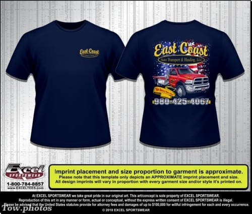 East Coast Auto Transport and Hauling 981809185 TEE