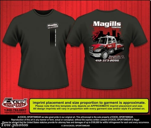 Magill's Towing 411810187 TEE